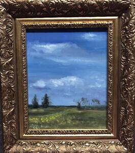 Original Oil Paintings Mecklenburg Impressionism Realism Painting Frame
