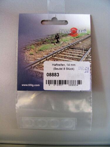 Tillig 08883 Haftreifen 8 St DM 14mm für BR23 und BR35 der BTTB Spur TT
