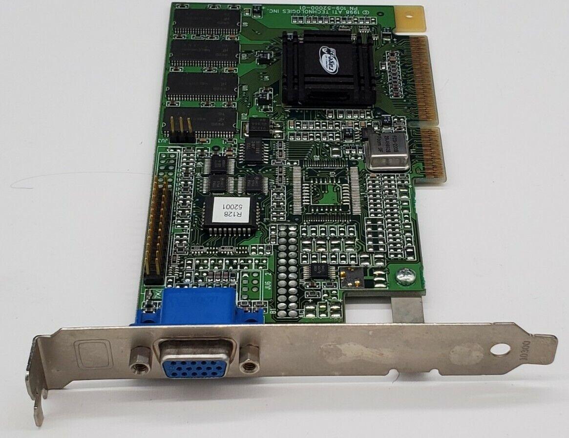 ATI RAGE 128 109-52000-01 8MB AGP CARD - FREE SHIPPING