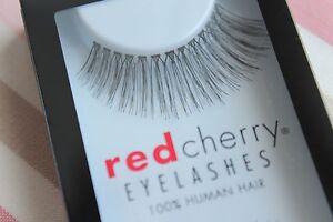 Red-Cherry-SIMONE-118-falsche-unechte-Echthaar-Wimpern-Wimpernverlaengerung