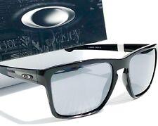 70956532835d1a NEW  Oakley SLIVER XL Black polished w Black Iridium Lens Sunglass oo9341-05