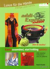 ADDI BOOK for EXPRESS KINGSIZE machine  instructions & 15/24 patterns  892-0