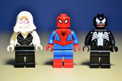 Lego Marvel Spider-Man Venom Gwen Stacy Minifigures 76115