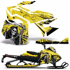 Decal Graphic Kit Ski Doo Rev XM Skidoo Sled Snowmobile Wrap Decal 13-14 REAP Y