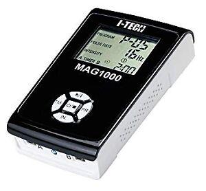 I-TECH magnetoterapia alta freq. MAG1000 2 canali 20 prog. batteria ricaricabile