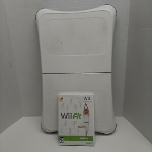 Nintendo Wii Fit Game And Balance Board Bundle working Pre-owned