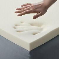 Memory Foam Bed Matress Soft Contour Extra Support Body Area 2 Inch Thick