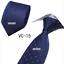 Classic-Red-Black-Blue-Mens-Tie-Paisley-Stripe-Silk-Necktie-Set-Wedding-Jacquard thumbnail 25