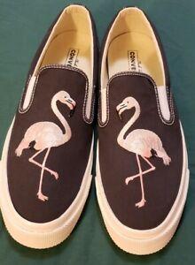 Converse-CTAS-Deck-Star-039-67-Slip-on-Shoes-Almost-Black-Pale-Flamingo-US-11-Men