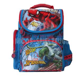 4bd995746c8a0 Das Bild wird geladen Spiderman-Spinne-Marvel-Schulranzen-Schulmappe- Tornister-Ranzen-Rucksack-