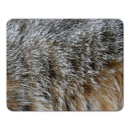 "Mauspad Mousepad /""Katzenfell/"" Katze Fell Haustier 24x19cm"