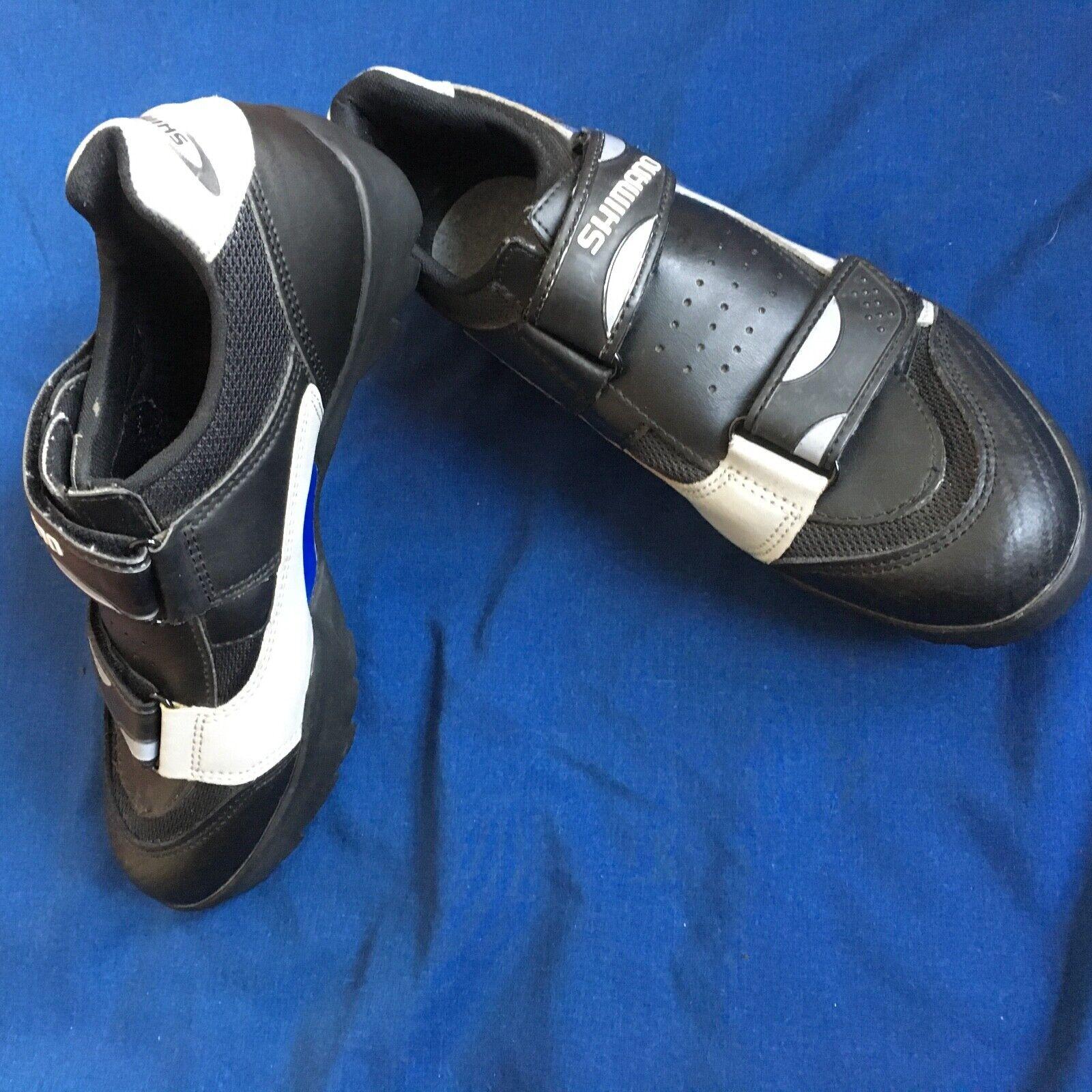 Shimano SH-M070 SPD  Cycling   Biking shoes Men's 9 (Euro 43) Excellent  fashion