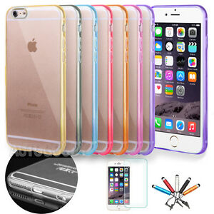 online store 87a01 5750f Details about Slim Transparent Crystal Clear Hard TPU Case for Apple iPhone  8 / 7 / 6 Plus #49
