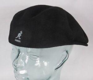 Kangol Wool 504 Flatcap Black Wool Hat Cap Pepe Kangol Cap Kangol ... 550a16b2c6e