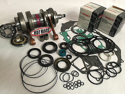 Banshee 64.50mm .020 Wiseco Pro Pistons Gaskets Cool Head Orings Bearing Top End