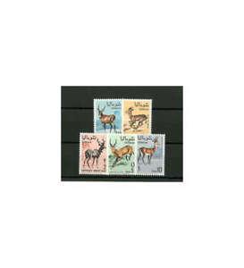 Somalia-Nr-129-133-postfrisch-034-Antilopen-und-Gazellen-034