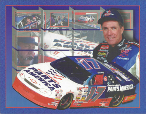 "1996 DARRELL WALTRIP /""WESTERN AUTO PARTS AMERICAN/"" #17 WINSTON CUP POSTCARD"