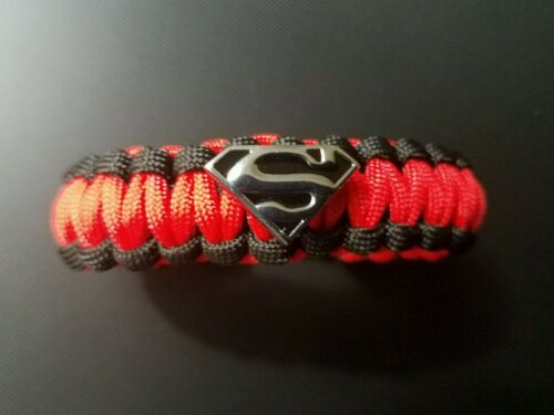 Superman paracord bracelet