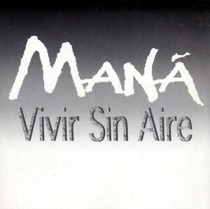 MANA-VIVIR-SIN-AIRE-CD-Single-PROMO-RARO-ITALIANO