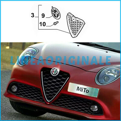 Gitter vorne original Alfa Romeo MiTo MY2016 Silber restyling neu ita FCA