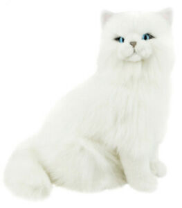 White-Persian-CAT-Pearl-BOCCHETTA-34cm-plush-soft-toy-sitting-BNWT