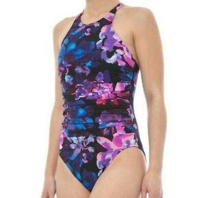 Magicsuit-by-Miraclesuit-Women-039-s-Swimsuit-Size-16-One-Piece-Floral-Divine-Danika