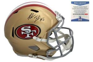 ac98149adf0 Image is loading Reuben-Foster-Autographed-SIGNED-San-Francisco-49ers-Speed-