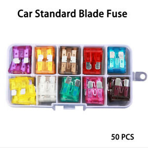 Medium-Truck-Motorcycle-Boat-Blade-FUSES-Kit-Car-Fuse-Case-Assorted-Assortment