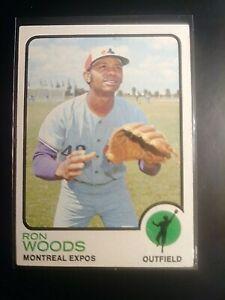 1973-Topps-531-Ron-Woods-Expos-NrMt-NM-High-HIGH-GRADE