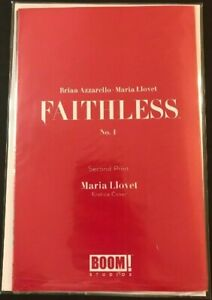 FAITHLESS-1-LLOVET-EROTICA-VARIANT-NM-2ND-PRINT-POLYBAGGED-BOOM-COMIC-2019