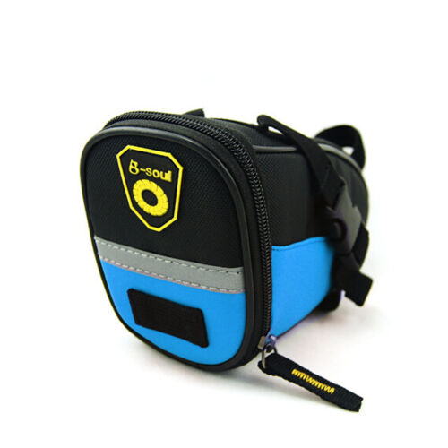 Bicycle Seat Bag Saddle Bag Exciting Colors Weather Resistant Tail pouch