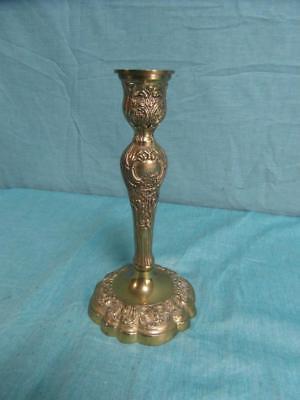 Das Beste Kerzenständer 1-flammig Verziert Leuchter Messing Antik Stil Kerzenhalter O12c7