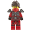 Lego-Kai-Rebooted-with-Stone-Armor-Target-Exclusive-2015-Ninjago-Minifigure thumbnail 1