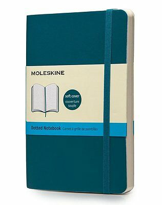 Moleskine Soft Cover Underwater Blue Pocket Dotted Notebook