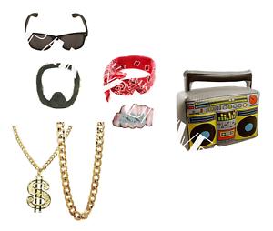 Ali-G-Gangster-Funny-Rapper-Stag-Night-TV-Star-90-039-s-Pimp-Fancy-Dress-Fun-Props