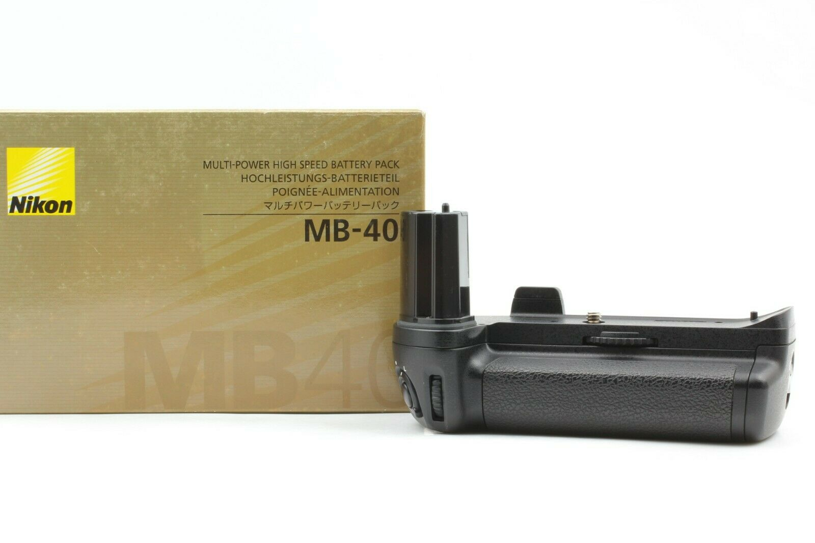 【Mint in Box】 Nikon MB-40 Battery Grip for Nikon F6 from Japan #571