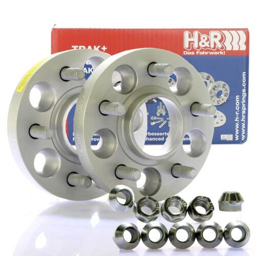 H/&R DRM Spurplatten Spurverbreiterung Distanzscheibe Ø108 5x108 56mm //// 2x28mm