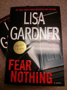 SIGNED-Fear-Nothing-Lisa-Gardner-Detective-D-D-Warren-Novel-Autographed