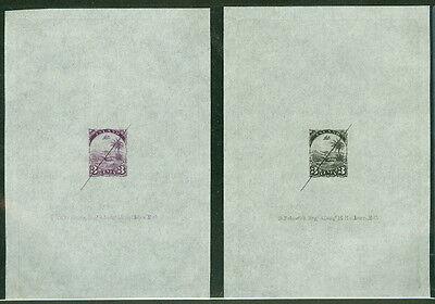 100% Wahr Liberia #21p 3 ¢,1881 Designer Prüfdruck In Schwarz Und Violett Mit / Defacement