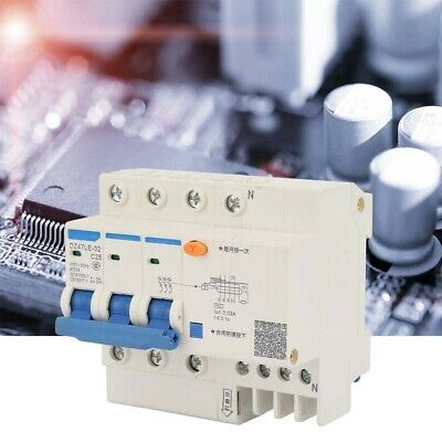 Current Circuit Breaker DZ47-63 3P 32A 400V Earth Leakage Protection Circuit Breaker for Industrial Home