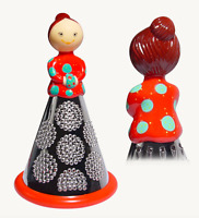 Pylones French Cheese Vegetable Grater Red Lady Decorative Figurine Shredder