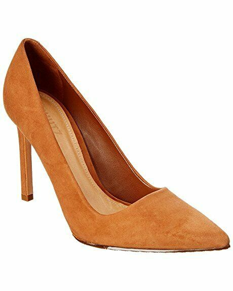 CHUTZ Farrah bspringaaaie Tan mocka High High High Stiletto Heel Peent Toe Dress Pump  rabatt