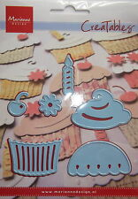 Marianne creatables Die Cutter, Cup Cake, craft, card making,