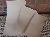 """24""""x12"""" NATURAL TOOLING VEG TAN LEATHER.HIDE 3.5-4 mm SHEATH, WET MOULD, EMBOSS"""