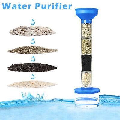 Water Filter Purifier Science DIY Kit
