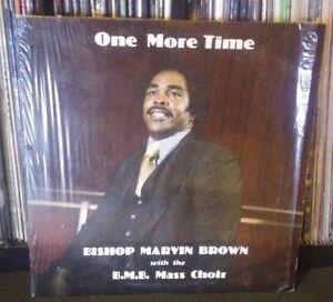 Bishop-Marvin-Brown-One-More-Time-ULTRA-RARE-OOP-Gospel-Soul-Funk-R-amp-B-Choir