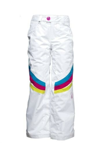 White with Girl Friend on Riv... Spyder Girl/'s Vision Thrill Tailored Fit Pant