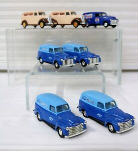7-Painel-Caminhoes-1-43-Escala-4-Ertl-1950-Chevy-2-Ertl-1938-1-1954-Road-Champ-Pepsi