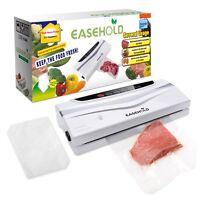 Portable Vacuum Sealer Machine Kitchen Food Sealing System Save Plastic Bag 120w
