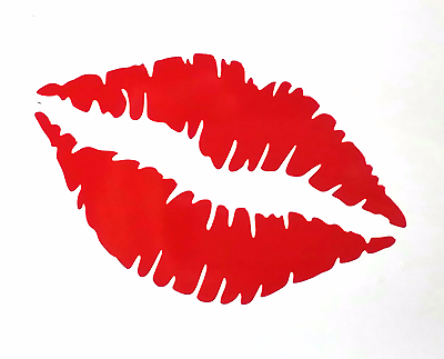 "American Flag United States America Kiss Lips Flag 6/"" Custom Vinyl Decal Sticker"